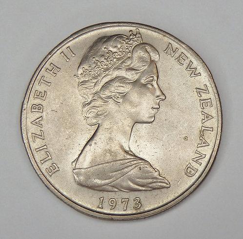New Zealand - 50 Cents - 1973