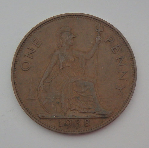Great Britain - Penny - 1938