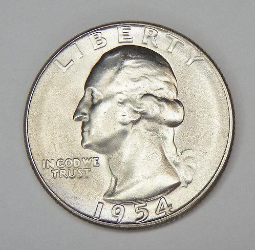1954-S Washington Quarter