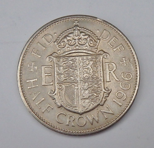 Great Britain - Half Crown - 1966