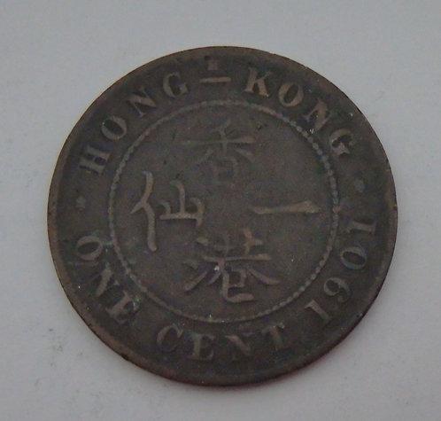 Hong Kong - Cent - 1901
