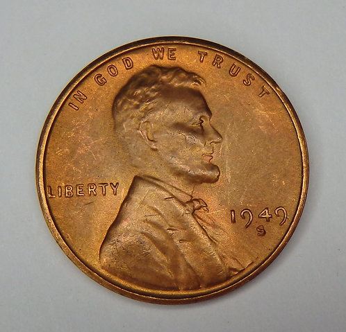 1949-S Wheat Cent