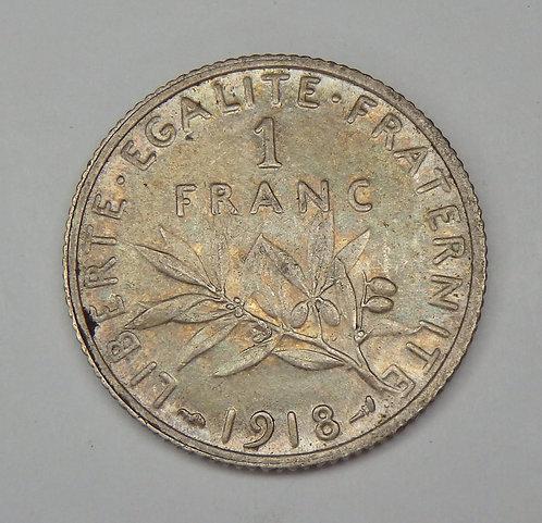 France - Franc - 1918