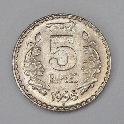 India - 5 Rupees - 1998