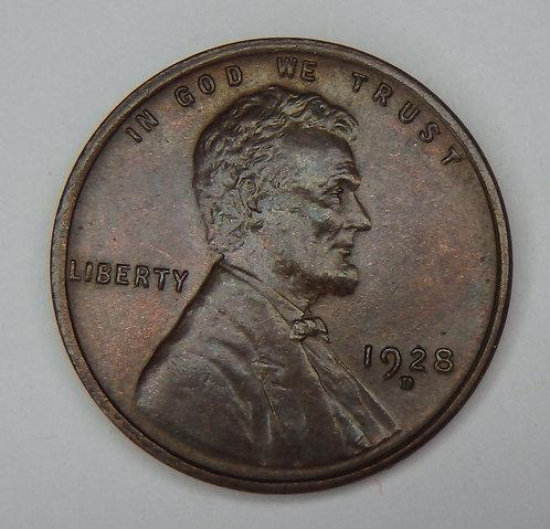 1928-D Wheat Cent
