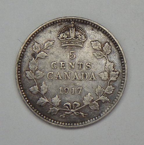 Canada - Nickel - 1917