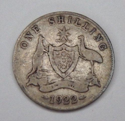 Australia - Shilling - 1922
