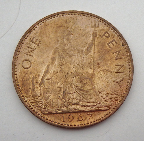 Great Britain - Penny - 1967