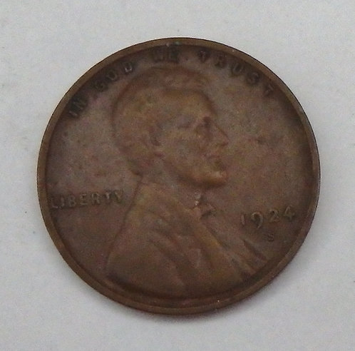 1924-S Lincoln Cent