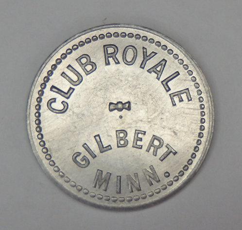 Minnesota, Gilbert - Club Royale Token