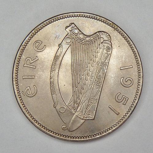 Ireland - Half Crown - 1951
