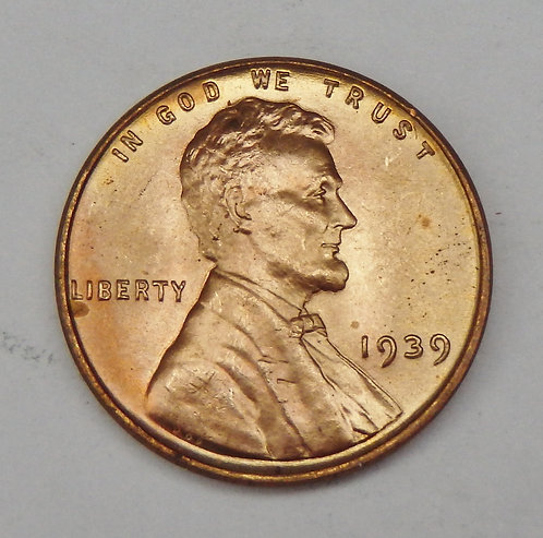 1939 Lincoln Cent