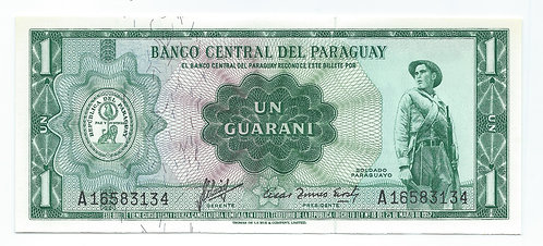 Paraguay - Guarani - 1952