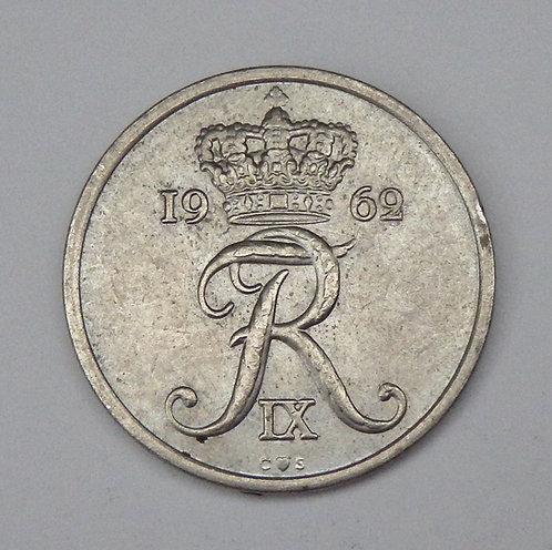Denmark - 25 Ore - 1962
