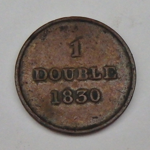 Guernsey - Double - 1830
