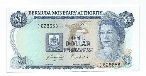 Bermuda - Dollar - 1978