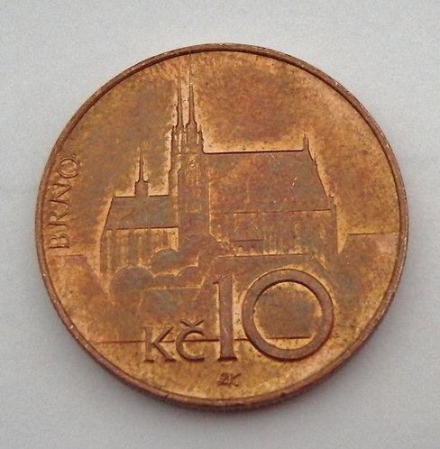 Czech Republic - 10 Korun - 1996
