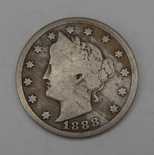 1888 Liberty V Nickel