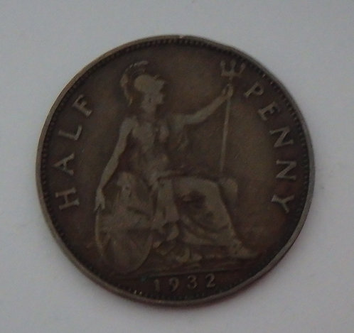 Great Britain - Half Cent - 1932