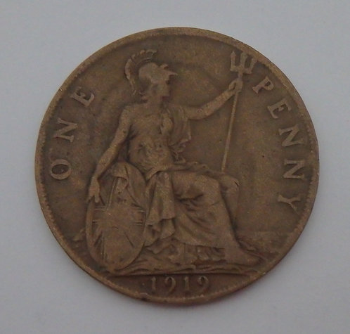 Great Britain - Penny - 1919