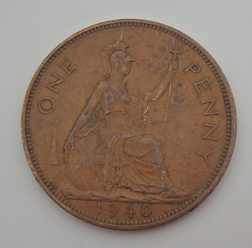 Great Britain - Penny - 1940