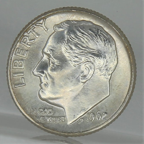 1962-D Roosevelt Dime