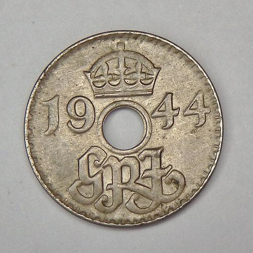 New Guinea - 3 Pence - 1944