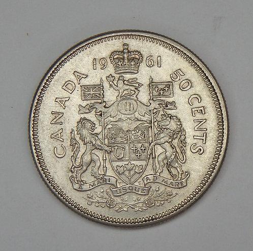 Canada - Half Dollar - 1961
