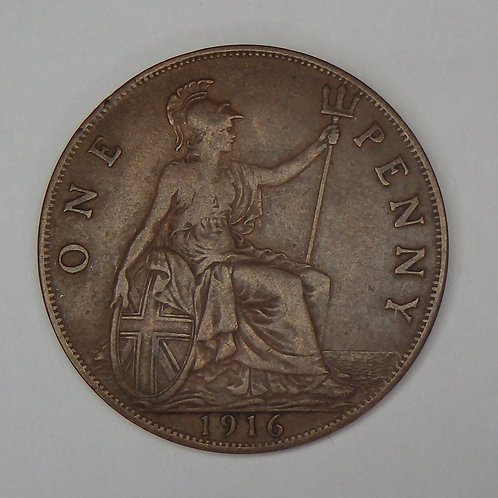 Great Britain - Penny - 1916