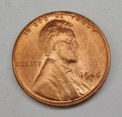1945-D Lincoln Cent