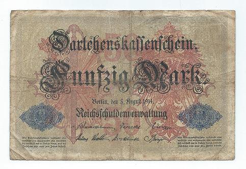 Germany - 50 Mark - 1914
