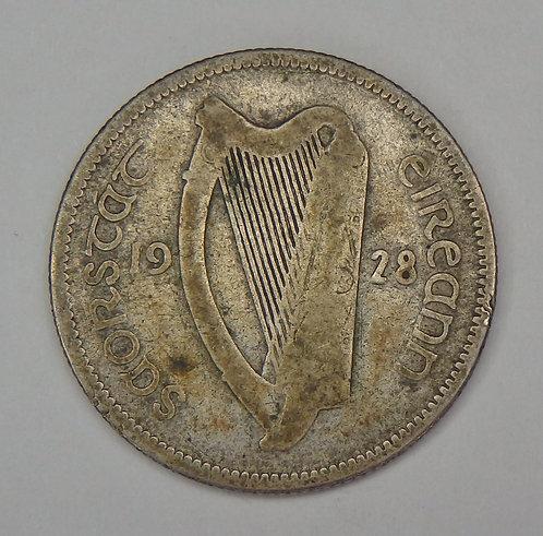 Ireland - Shilling - 1928