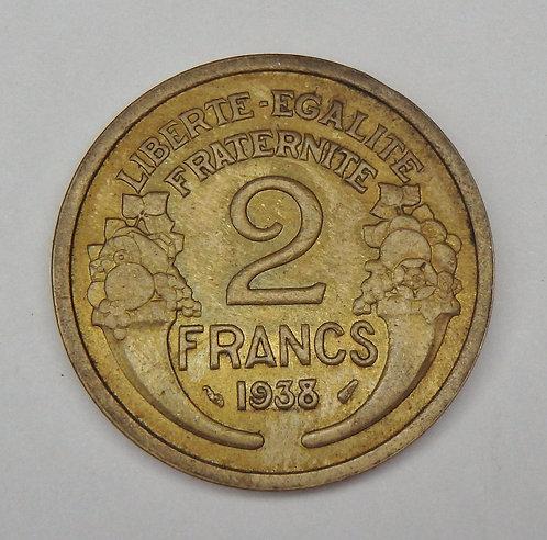 France - 2 Francs - 1938
