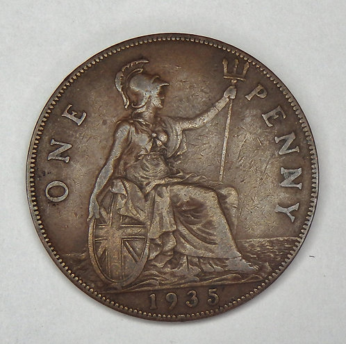 Great Britain - Penny - 1935