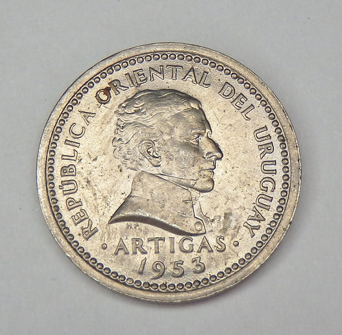 Uruguay - 2 Centesimos - 1953
