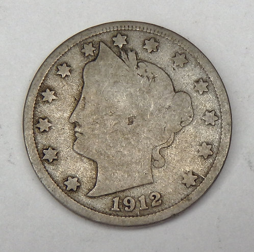 1912-D Liberty (V) Nickel