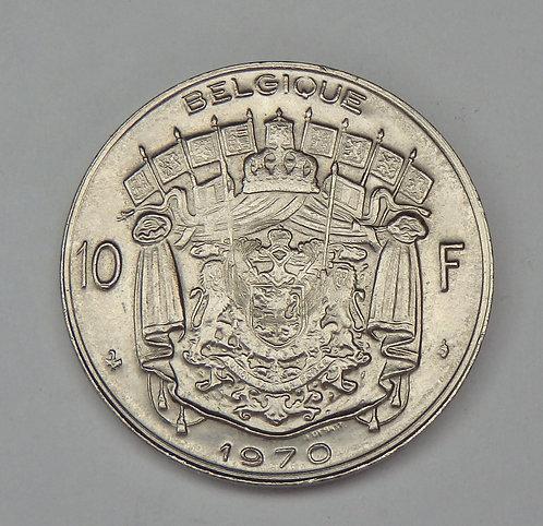 Belgium - 10 Francs - 1970