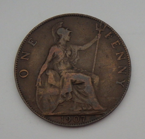 Great Britain - Penny - 1907