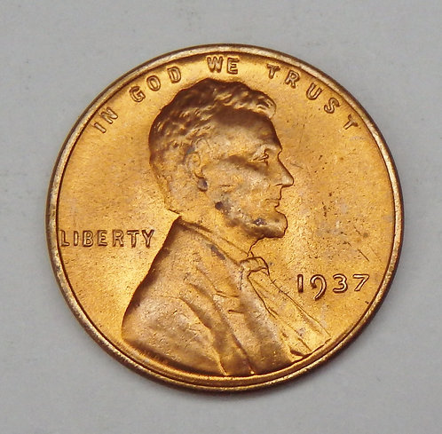 1937 Lincoln Cent