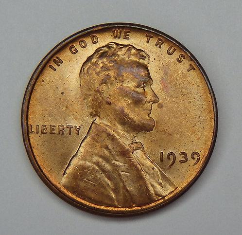 1939 Wheat Cent