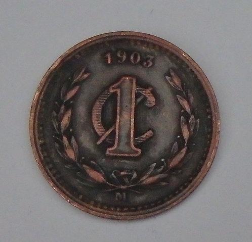 Mexico - Centavo - 1903M