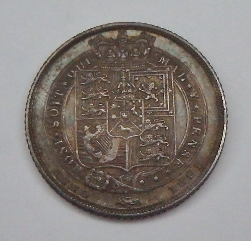 Great Britain - 6 Pence - 1825