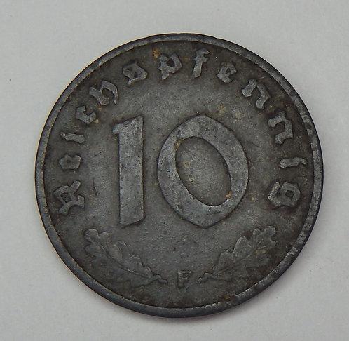 Germany - 10 Pfennig - 1943-F