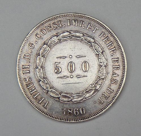 Brazil - 500 Reis - 1860