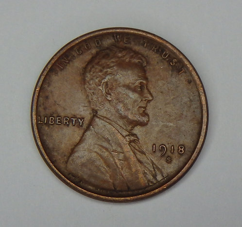 1918-S Wheat Cent