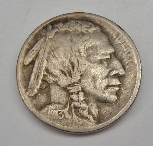 1913-S Buffalo Nickel