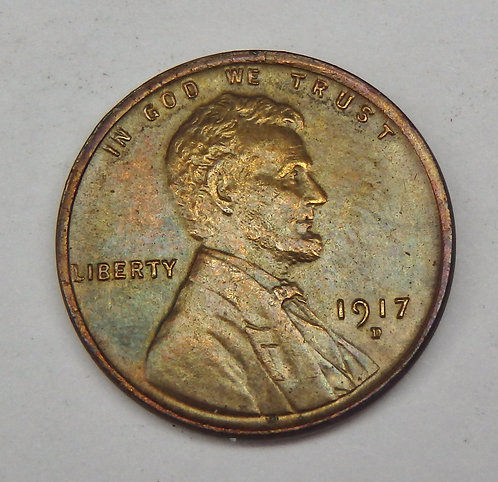 1917-D Lincoln Cent