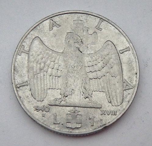 Italy - Lira - 1940R