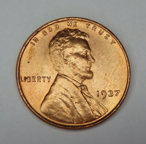 1937 Wheat Cent