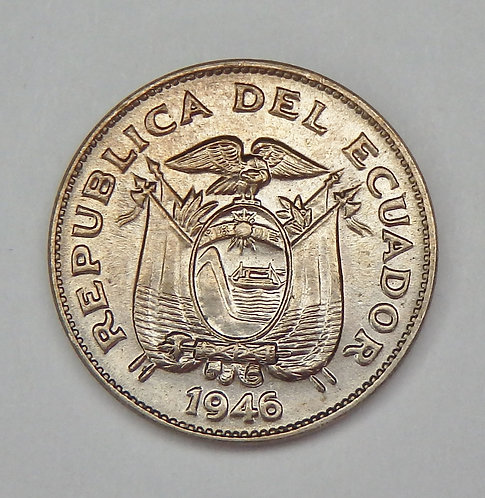Ecuador - 5 Centavos - 1946